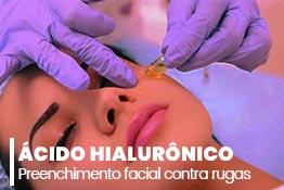 Eficiência do ácido hialurônico para preenchimento facial